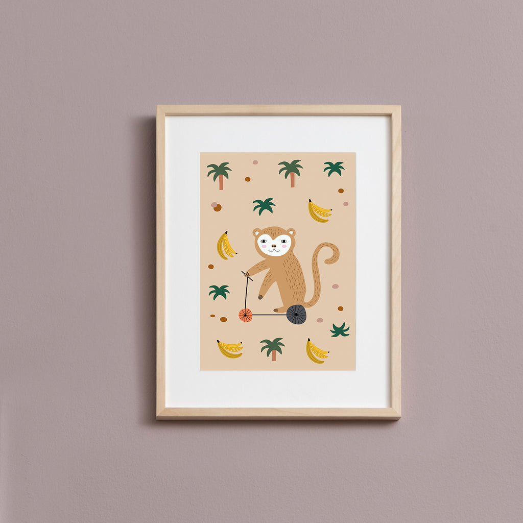 Mr. Monkey Art Print (1970769821738)