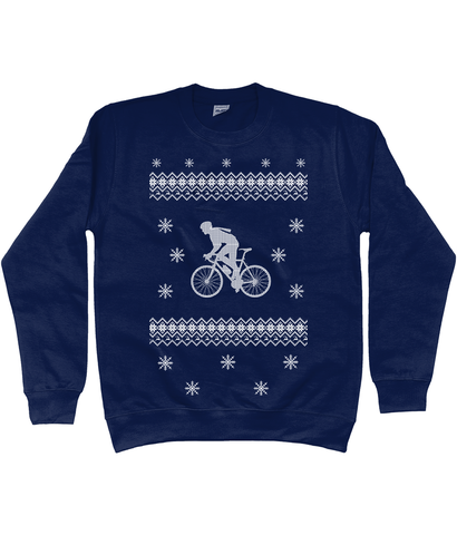 Riding In The Snow Christmas Jumper