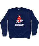 Cycling Home For Christmas Jumper