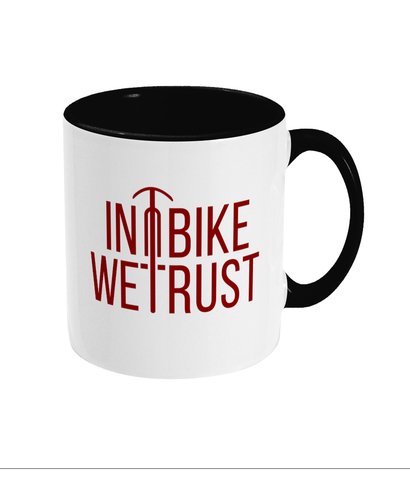 In Bike We Trust Mug