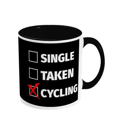Single Taken Cycling Mug