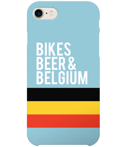 Bikes, Beer & Belgium Phone Case