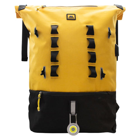 "MOCHILA URBAN BIKE PARA LAPTOP DE 15.6"" AMARILLA"