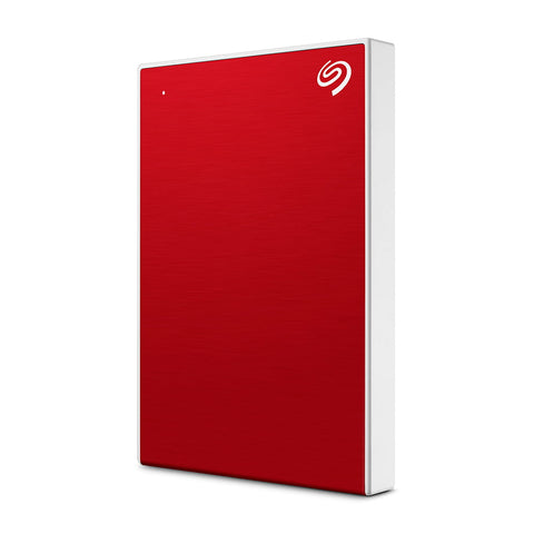 DISCO DURO PORTÁTIL BACKUP PLUS SLIM 1TB USB 3.0 ROJO STHN1000403