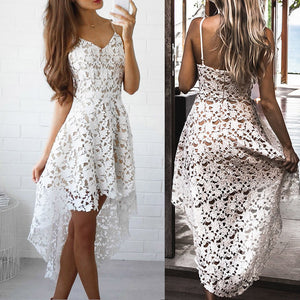 Backless Lace Dress