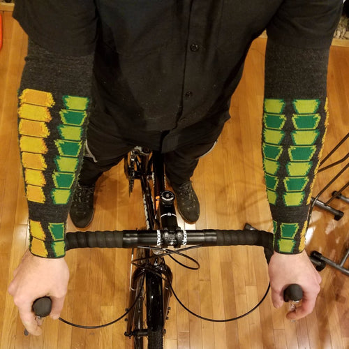 Custom Merino Wool Armskins by DeFeet