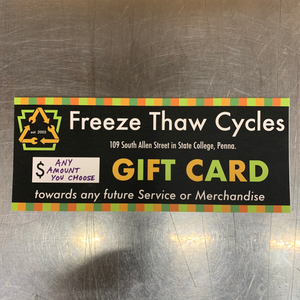 Ye Olde Freeze + Thaw Cycle Shoppe Gift Certificate