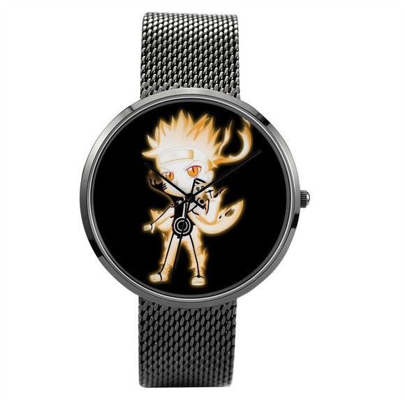 Naruto Quartz Watch Stainless Steel Band