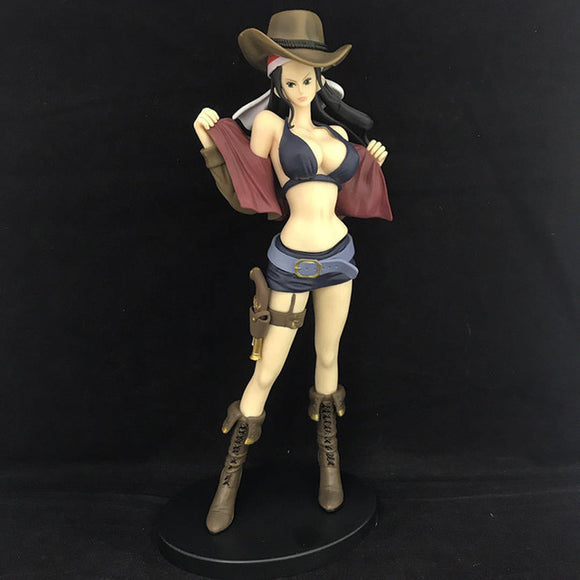 26cm One Piece Nico Robin Pirates of the Caribbean Cowboy