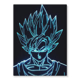 Dragonball Gokuhalo Stretched Eco-Canvas