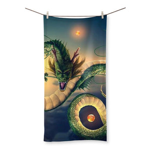 Dragonball Shenron Beach Towel
