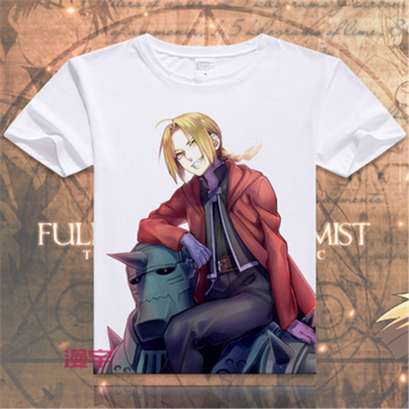 Full metal Alchemist Steel Edward Alphonse T Shirt