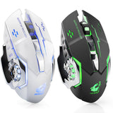2.4GHz Wireless Mouse   Rechargeable Silent USB Optical Ergonomic Gaming Mini Mice