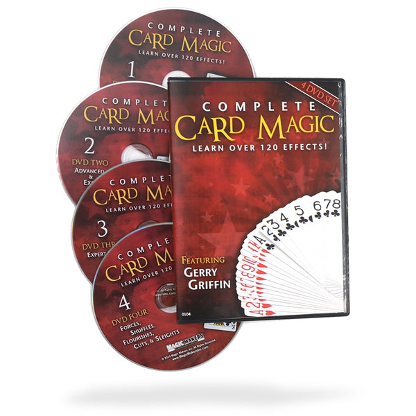 Complete Card Magic - 7 Volume Set - Eagle Magic Store