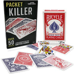 Packet Killer 45 Tricks With Special Bicycle Deck - Eagle Magic Store