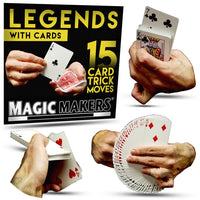 15 CARD TRICK MOVES - LEGEND WITH CARDS - Eagle Magic Store