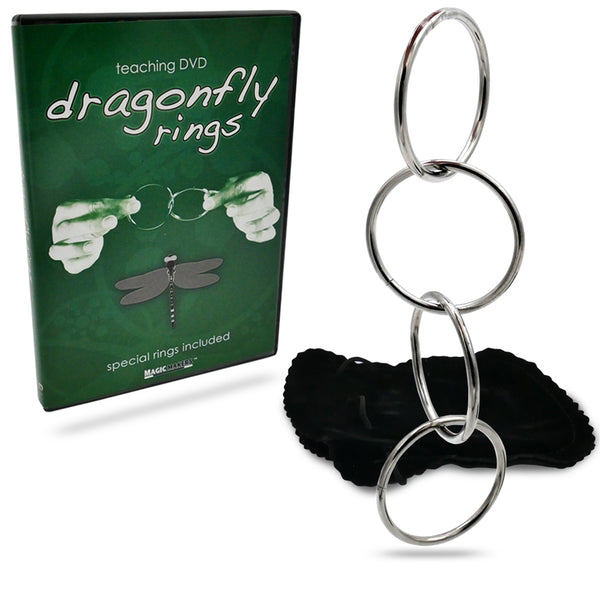 Dragonfly Rings with DVD - Eagle Magic Store