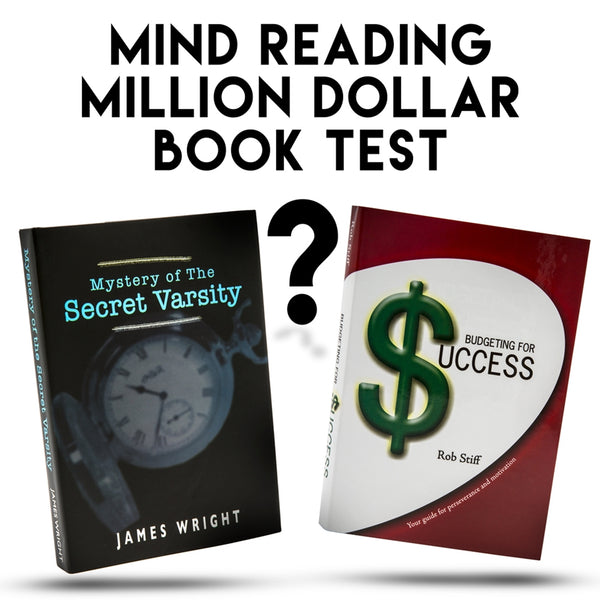 Million Dollar Book Test - Eagle Magic Store