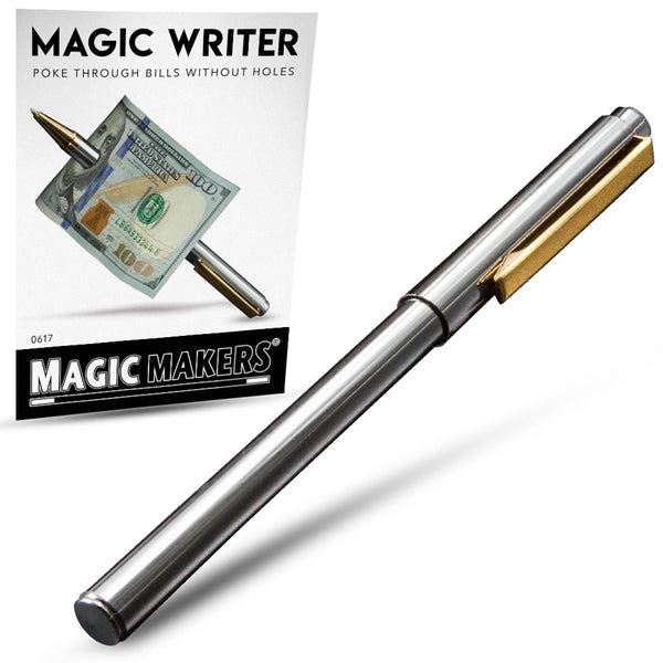 Magic Writer - Ultimate Pen Thru Bill Illusion - Eagle Magic Store