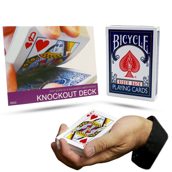Bicycle Knockout Deck - Eagle Magic Store