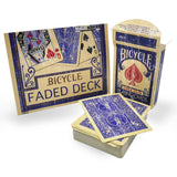 Bicycle Rider Back Faded Deck - Eagle Magic Store