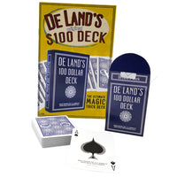 De Land's Marked Deck with Instruction Booklet - Eagle Magic Store