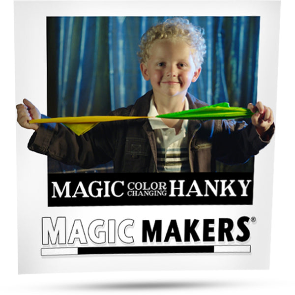 Color Changing Hanky - Eagle Magic Store