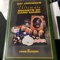 Dai Vernons Ultimate Secrets of Card Magic