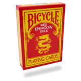 Red Dragon Deck Bicycle - Eagle Magic Store