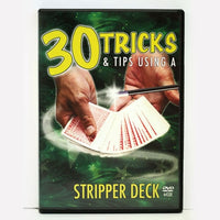 30 Tricks & Tips-Stripper Deck - Eagle Magic Store