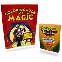 Magic Coloring Book & Vanishing Crayons