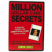 """Million Dollar Card Secrets"" Card Tricks - Eagle Magic Store"