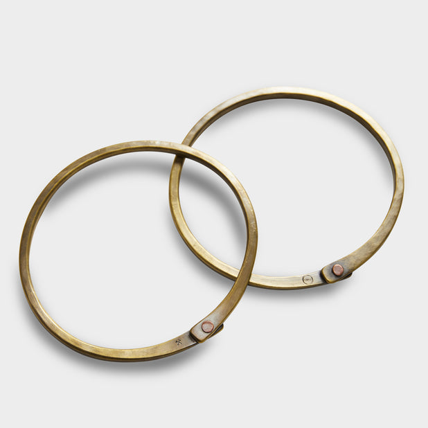 Brass Handbag Rings