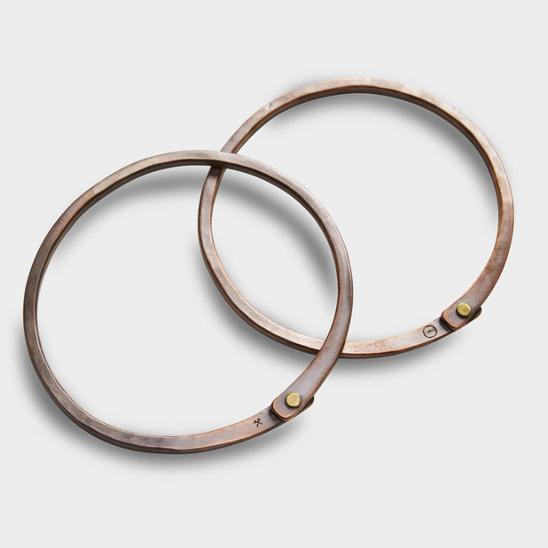 Copper Handbag Rings