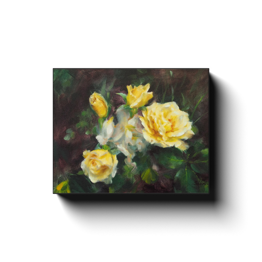 LIFE OF ROSES Canvas Print Gallery Wraps