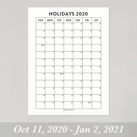 2020 Holiday Edition