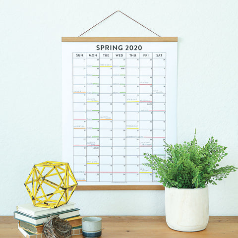 3-Season Annual Calendar Bundle