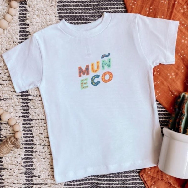 Colorful Toddler Muñeco Shirt