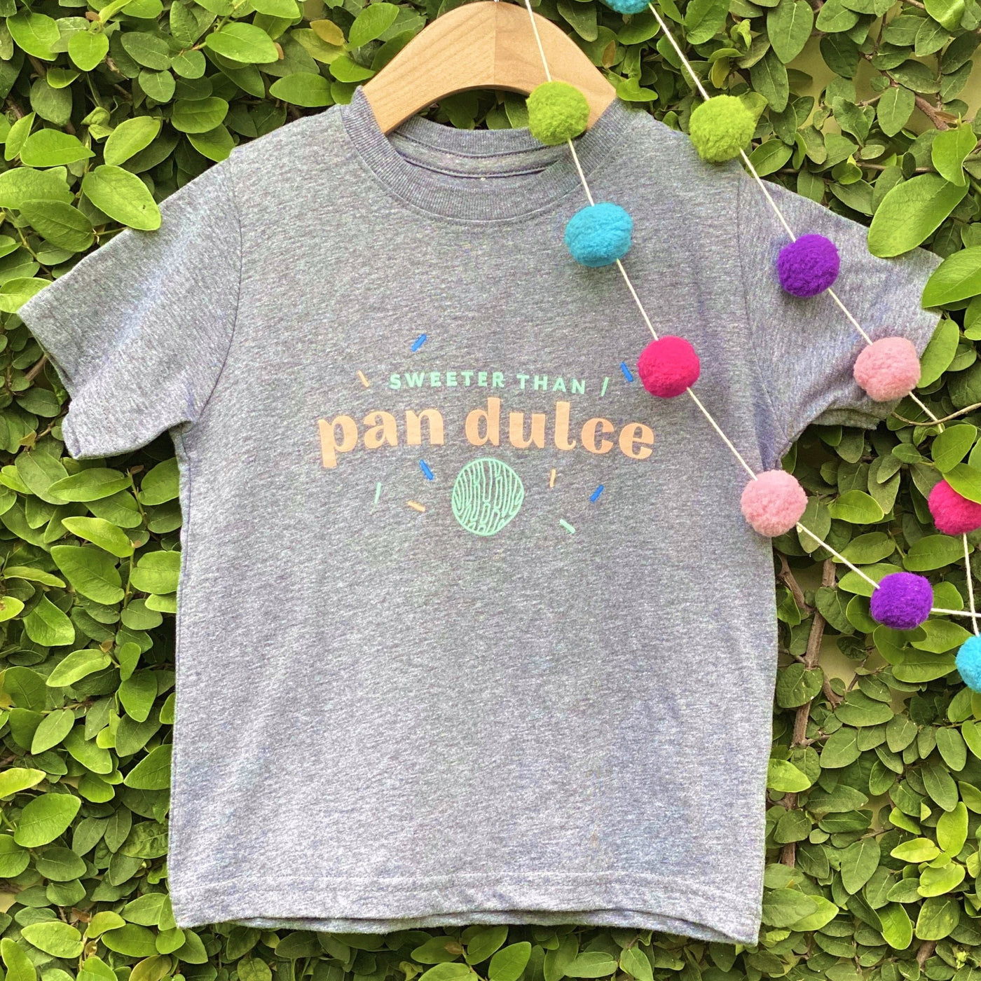 Sweeter Than Pan Dulce- Gray Tee [Infant & Toddler Size]