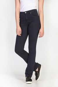 Jeans jambe droite super extensible Emily