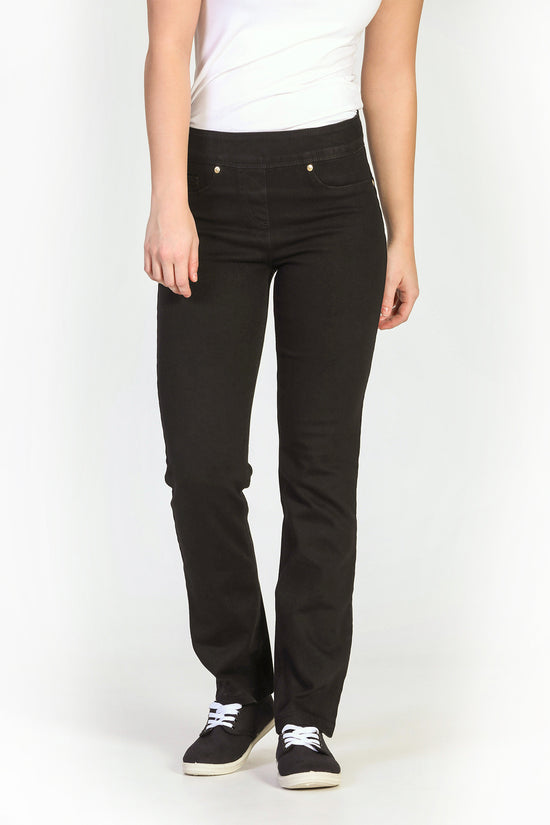 Jeans fourreau extensible noir