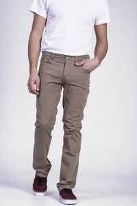 Pantalon ajusté en twill David