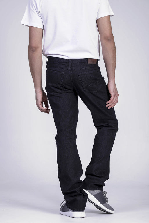Jeans jambe droite extensible David