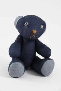 Peluche ourson denim