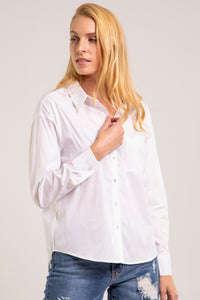 Chemise blanche ample