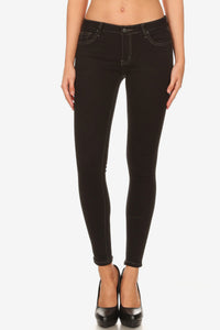 Skinny taille basse stretch