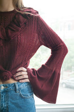 Hello Lovely Ruffled Sweater