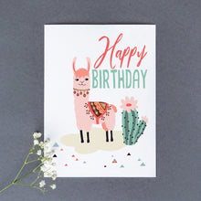 Load image into Gallery viewer, Birthday Llama
