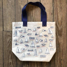 Load image into Gallery viewer, nautical tote