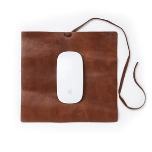 Leather Travel Mousepad